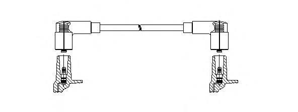 Провод зажигания BREMI 114/55