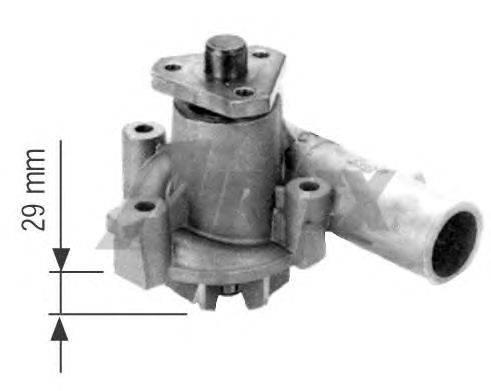 Водяной насос AIRTEX 1088