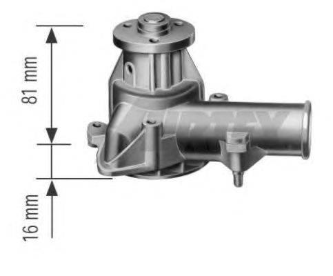 Водяной насос AIRTEX 1097-L