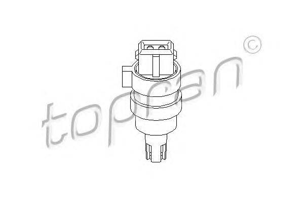 Датчик, температура впускаемого воздуха TOPRAN 109 795