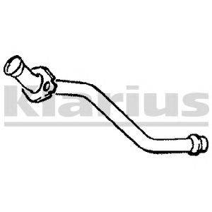 Труба выхлопного газа KLARIUS 110146