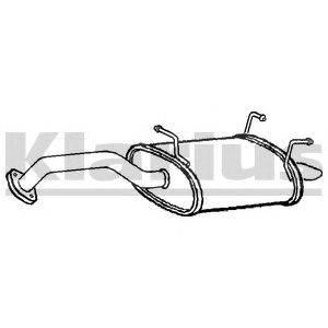 Глушитель выхлопных газов конечный KLARIUS 240814