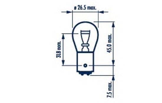 Лампа накаливания, фонарь сигнала тормож./ задний габ. огонь; Лампа накаливания, фонарь сигнала торможения; Лампа накаливания, задняя противотуманная фара; Лампа накаливания, задний гарабитный огонь; Лампа накаливания, фонарь сигнала тормож./ задний габ. огонь; Лампа накаливания, фонарь сигнала торможения; Лампа накаливания, задняя противотуманная фара; Лампа накаливания, задний гарабитный огонь; Лампа, противотуманные . задние фонари NARVA 17881