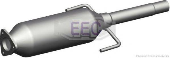 Сажевый / частичный фильтр, система выхлопа ОГ EEC DPF051