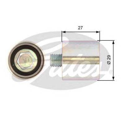 Паразитный / Ведущий ролик, зубчатый ремень GATES T42019