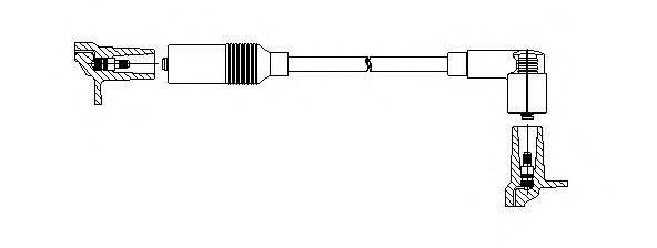 Провод зажигания BREMI 115/40