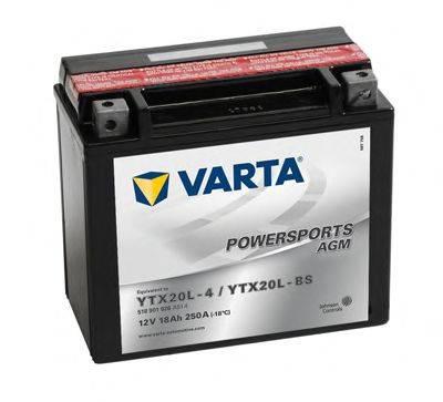 Стартерная аккумуляторная батарея; Стартерная аккумуляторная батарея VARTA 518901026A514