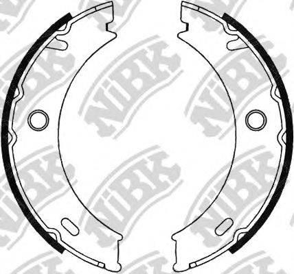 Комплект тормозных колодок NiBK FN0576