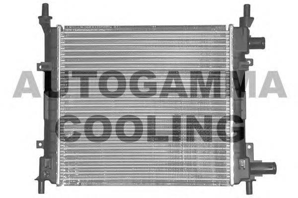 Радиатор, охлаждение двигателя AUTOGAMMA 101331