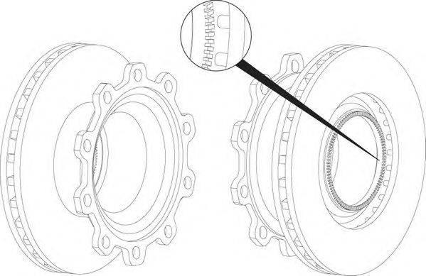 FERODO (НОМЕР: FCR294A) Тормозной диск