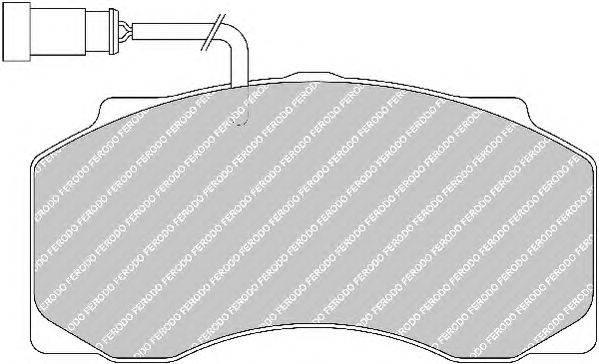 FERODO (НОМЕР: FCV1042) Комплект тормозных колодок, дисковый тормоз