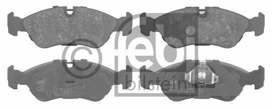 Комплект тормозных колодок, дисковый тормоз FEBI BILSTEIN 16030