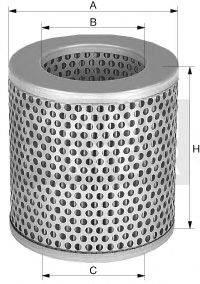Воздушный фильтр MANN-FILTER C 1112/1