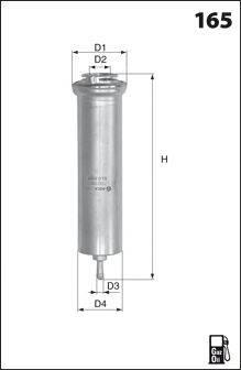 Топливный фильтр MECAFILTER ELG5301