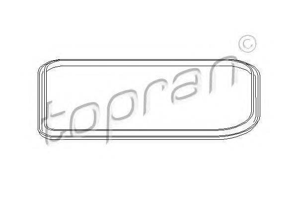 TOPRAN (НОМЕР: 107 333) Прокладка, маслянного поддона автоматическ. коробки передач