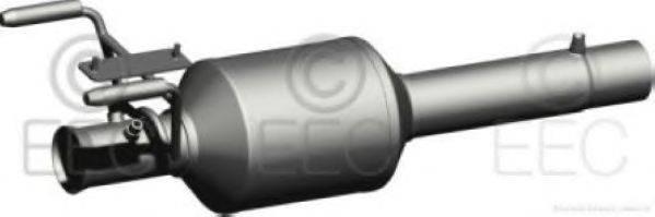 Сажевый / частичный фильтр, система выхлопа ОГ EEC DPF013