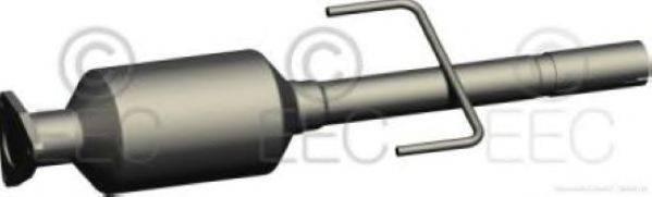 Сажевый / частичный фильтр, система выхлопа ОГ EEC DPF030