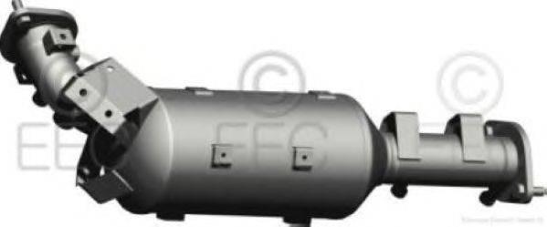 Сажевый / частичный фильтр, система выхлопа ОГ EEC DPF033