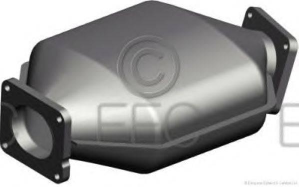 Сажевый / частичный фильтр, система выхлопа ОГ EEC DPF029