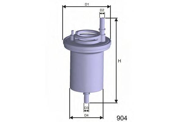 Топливный фильтр MISFAT E100