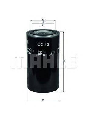KNECHT (НОМЕР: OC 42) Масляный фильтр