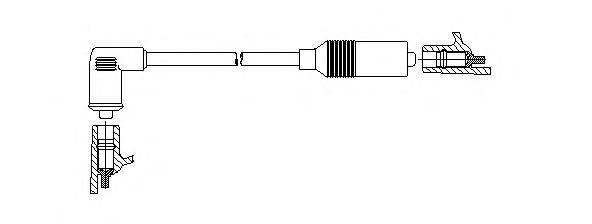 Провод зажигания BREMI 109/65