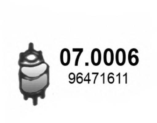 Катализатор ASSO 07.0006