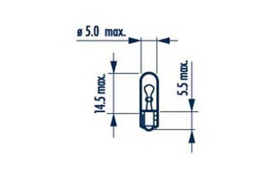 Лампа накаливания, внутренее освещение; Лампа накаливания, освещение щитка приборов; Лампа накаливания, внутренее освещение; Лампа накаливания, дополнительный фонарь сигнала торможения; Лампа, освещение ящика для перчаток NARVA 17032