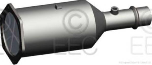 Сажевый / частичный фильтр, система выхлопа ОГ EEC DPF004