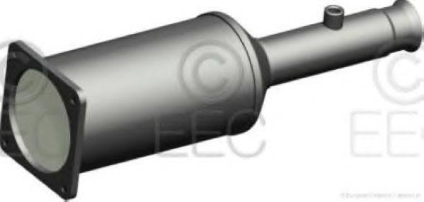 Сажевый / частичный фильтр, система выхлопа ОГ EEC DPF009