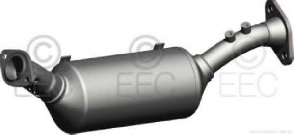 Сажевый / частичный фильтр, система выхлопа ОГ EEC DPF034
