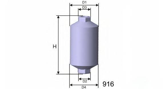 Топливный фильтр MISFAT E502