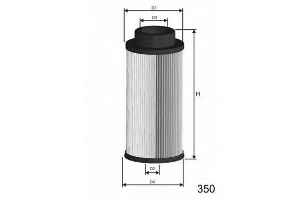 Топливный фильтр MISFAT F004