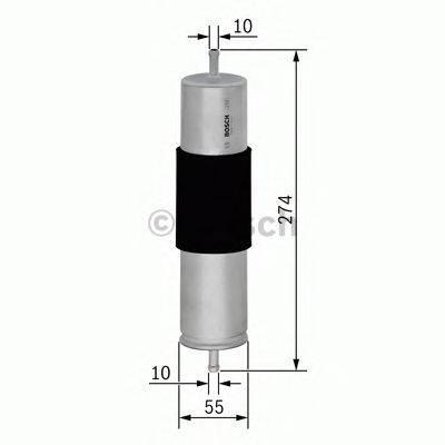 Топливный фильтр BOSCH 0450906450