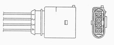 Лямбда-зонд NGK 0424