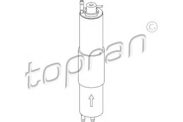 Топливный фильтр TOPRAN 500740