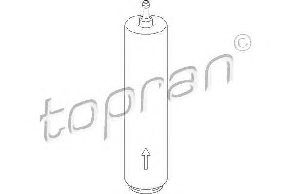 Топливный фильтр TOPRAN 500998