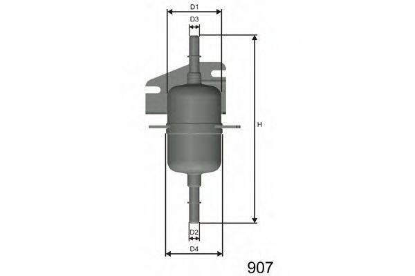 Топливный фильтр MISFAT E105