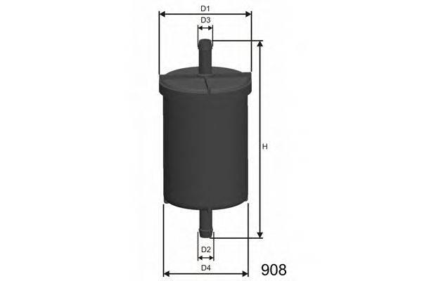 Топливный фильтр MISFAT E500