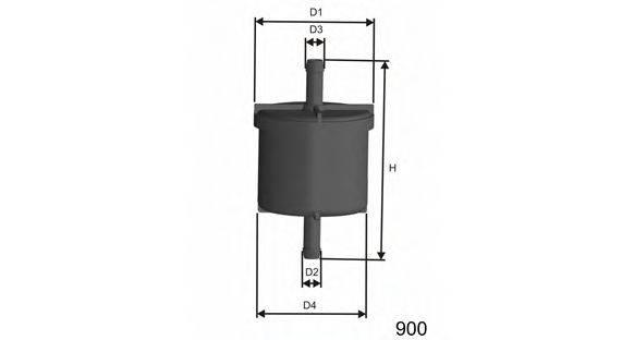 Топливный фильтр MISFAT E514