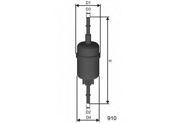 Топливный фильтр MISFAT E844