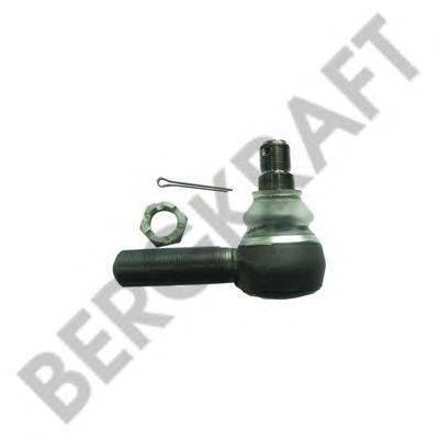 Наконечник поперечной рулевой тяги; Угловой шарнир, продольная рулевая тяга BERGKRAFT BK2963321SP