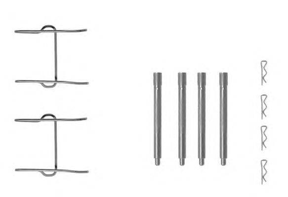 Комплектующие, колодки дискового тормоза MINTEX MBA1149
