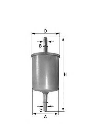 ACDelco (НОМЕР: FS9128E) Топливный фильтр