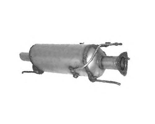 Сажевый / частичный фильтр, система выхлопа ОГ ASSO 02.15001