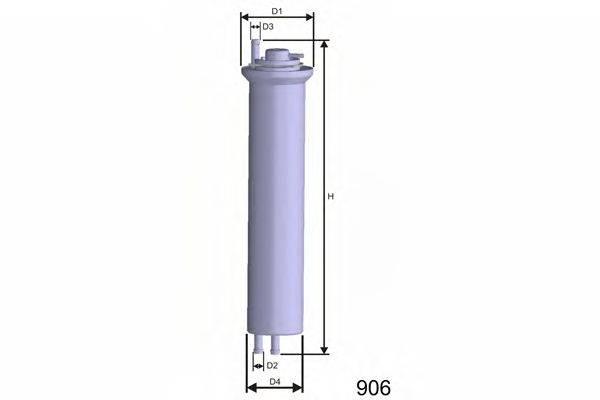 Топливный фильтр MISFAT E102