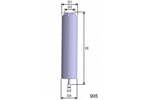 Топливный фильтр MISFAT E101
