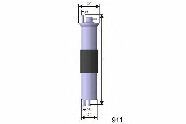 Топливный фильтр MISFAT E847
