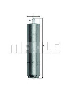 Топливный фильтр KNECHT KL579D