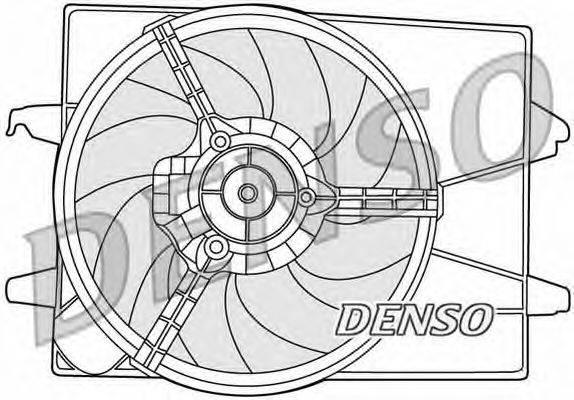 Вентилятор, охлаждение двигателя NPS DER10003
